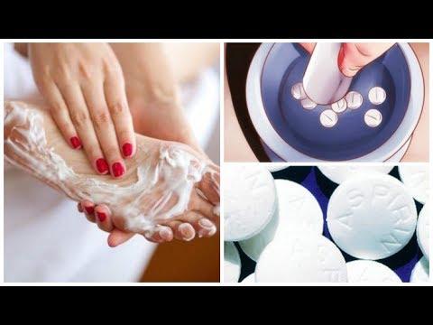 Аспириновый Пилинг подарит гладкость коже ваших ног