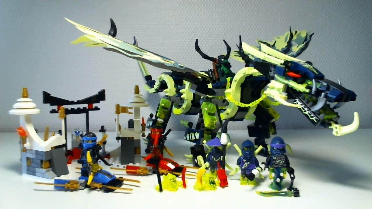 Lego Ninjago Dragon LEGO Ninjago Video Rev...