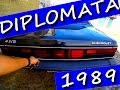 INESQUECÍVEL ÚNICO OPALA DIPLOMATA 1989 ACELERADO 6 CILINDROS GASOLINA