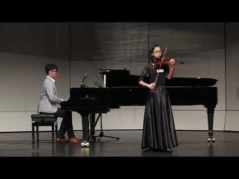 2017香港弦樂紫荊杯大賽 小提琴(中級組) 金獎 易秋好