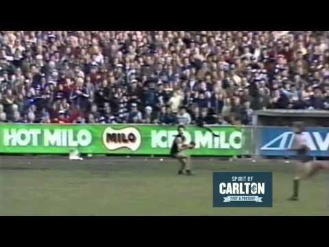 Ken Hunter 1981 - Carlton Football Club Past Player