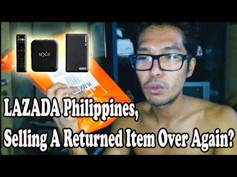 Proof : Lazada Philippines Selling Returned Item.