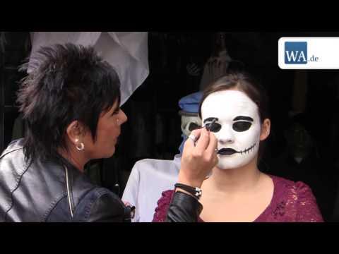 Tutorial: Schminktipps aus dem Halloweenhaus