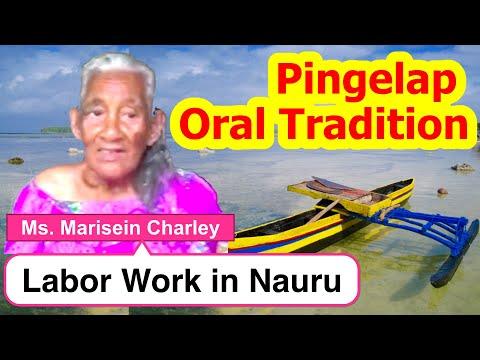 Account of Labor Work in Nauru, Pingelap