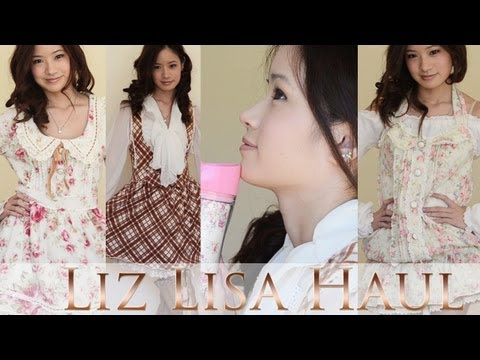 Liz Lisa HaulJapanese Fashion Haul リズリサ購入品