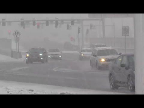 Winter Storm Pummels Tri-State Area With Rain And Snow   News 4 Now
