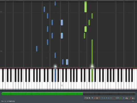 La Petite Fille de la Mer (Vangelis) - Synthesia Piano Tuto