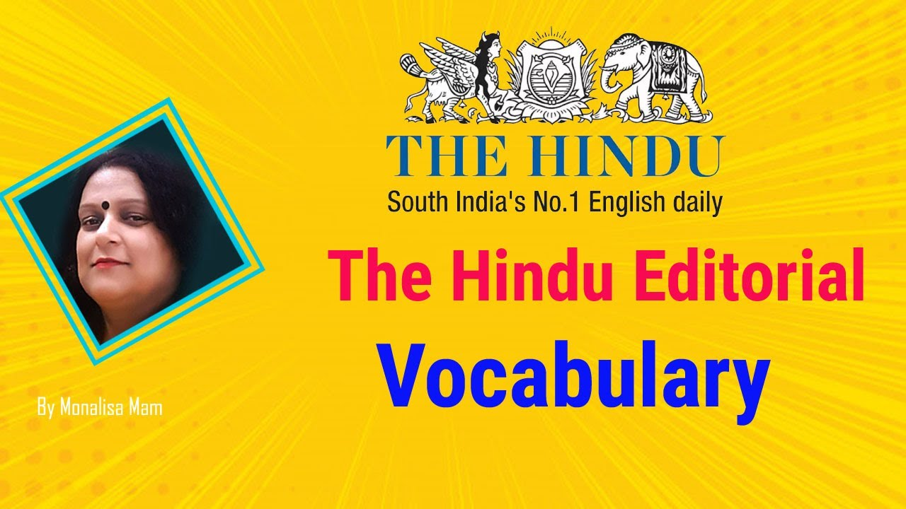 The Hindu Vocabulary with Tricks   Learn 10 New Words   SBI / IBPS By  Monalisa
