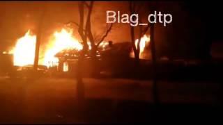 В пожаре на Пролетарской выгорела квартира и гараж с двумя авто