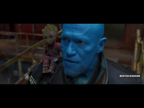 Yondu Scene GOTG VOL 2 Dancing In The Moonlight Version
