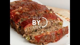 Meatloaf Recipe, Simple Meatloaf Recipe, Recipe for Meatloaf, How to Make Meatloaf, Southern Style