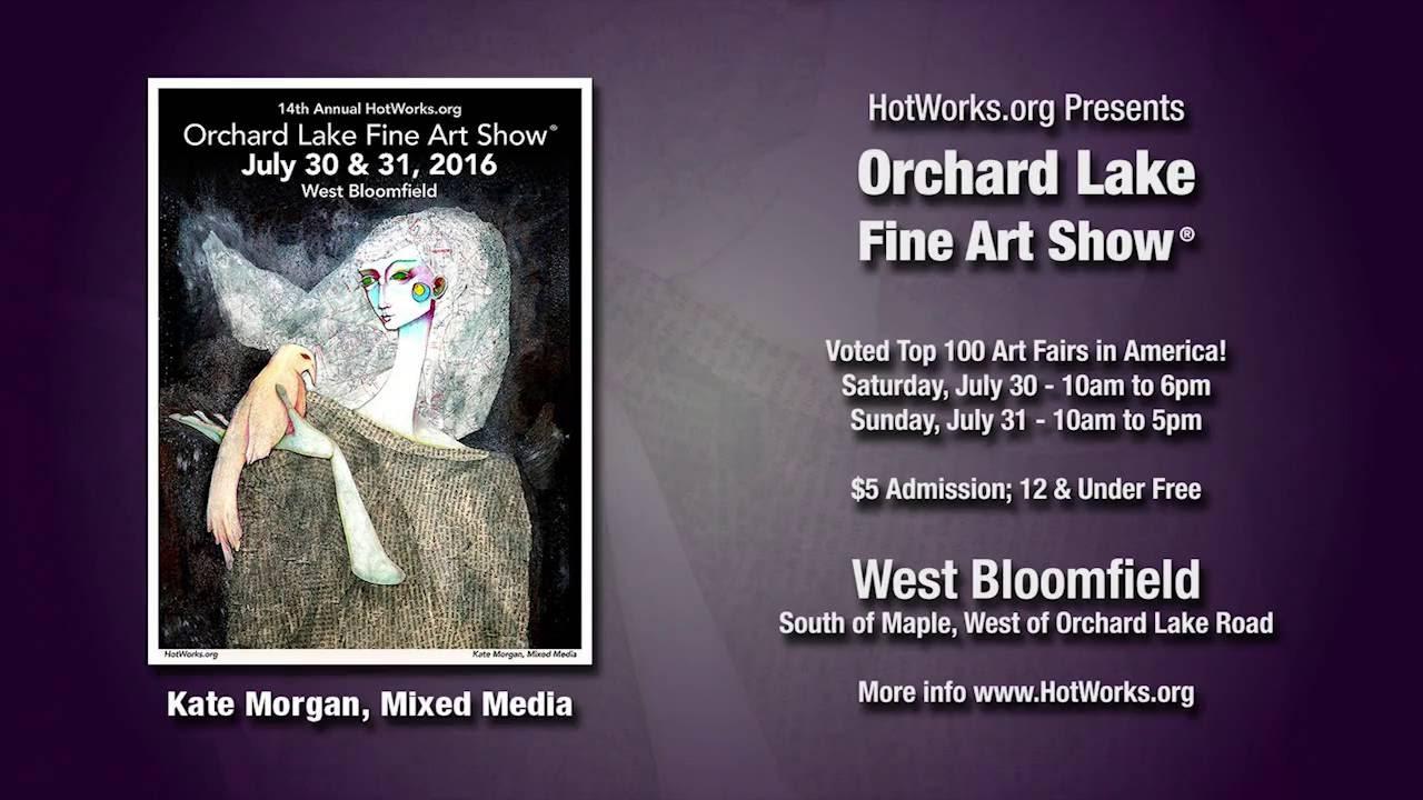 Orchard Lake Fine Art Show   Michigan   Hot Works Fine Art