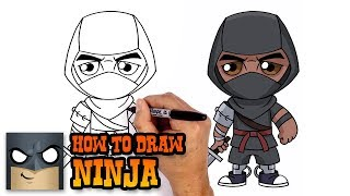 How to Draw Ninja | Fortnite (Art Tutorial)
