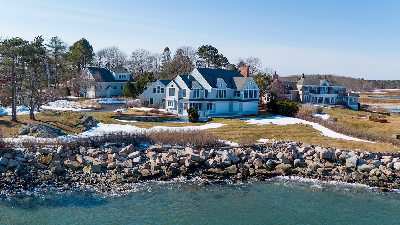 Maine Real Estate 134 Marshall Point Road Kennebunkport