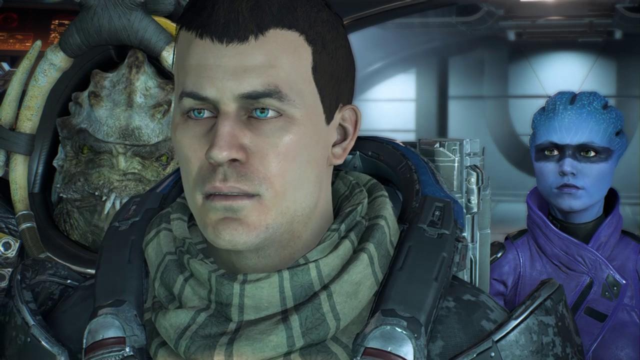 Mass Effect Andromeda Locating The Salarian Ark Youtube