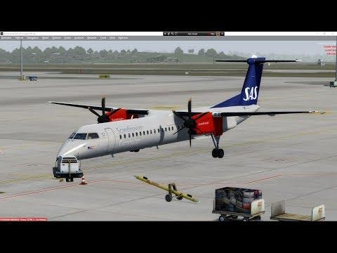DASH Q 400 FULL FLIGHT LTAC-LTBH