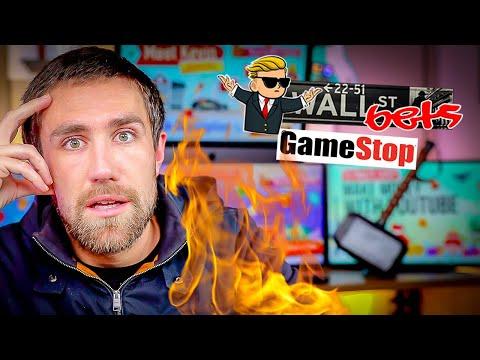 GameStop, AMC CRASHING!!! The WallStreetBets Squeeze LIVE