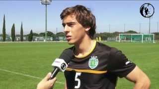 A formação do Sporting em destaque na Sportv brasileira