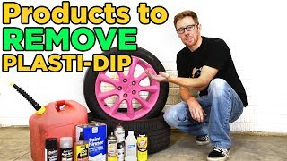Plasti-Dip Removal Test with 9 Different Products