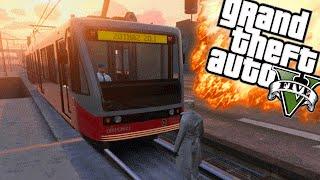 STOP DE TRAM! - GTA 5 Online Funny Moments