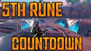 5TH RUNE COUNTDOWN - FORTNITE LOOT LAKE EVENT RIGHT NOW!