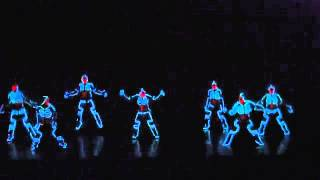 La Mejor Coreografía:Tron Styled