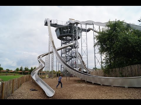 Irrland - Kevelaer - Rutschenturm am Airport - Onride/Onslide (Irrland - Big Slide Tower )
