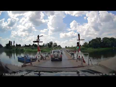 Воронеж - В.Мамон, М4  через Россошь, понтон 2018