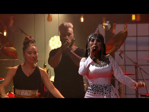 "Afghan superstar Aryana Sayeed performs ""Kamak Kamak/Alay Joo"" - Polar music prize (TV4)"
