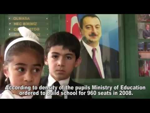 How do budget money spend in Azerbaijan Scool project in Ganja city