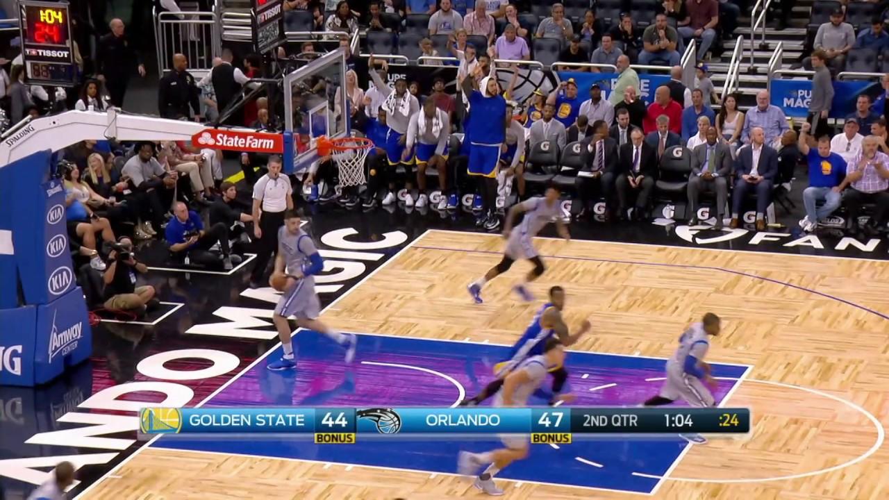 Golden State Warriors vs Orlando Magic   January 22, 2017   NBA 2016-17 Season - YouTube
