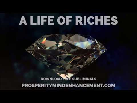 Invite Real Riches Into Your Life - Real Wealth Subliminal Affirmations
