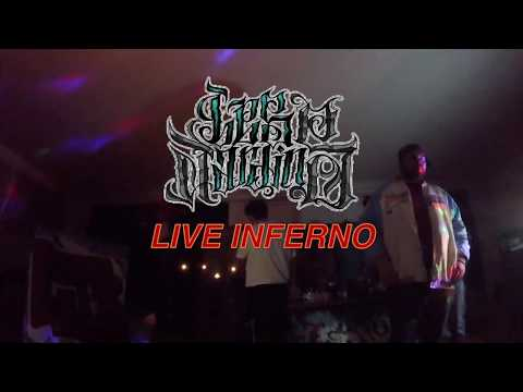 "LES JARDINS  ""Live Inferno"" (Film Completo)"