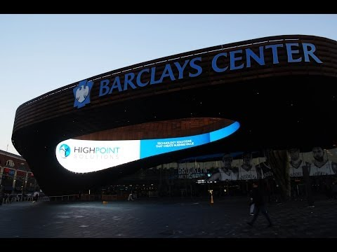 Barclays Center - A Partnership In Arena Technology
