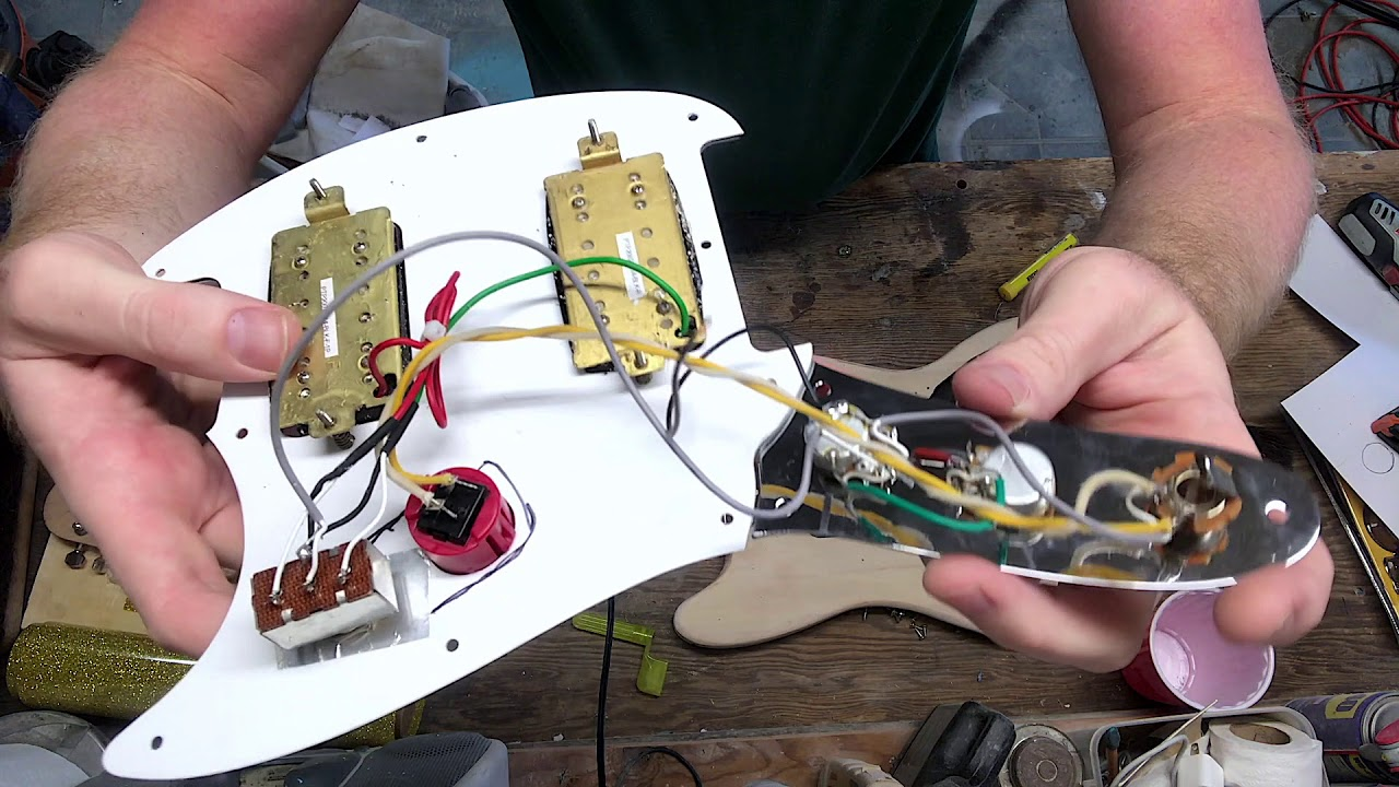 hight resolution of squier bullet mustang refin kill switch mod reassembly