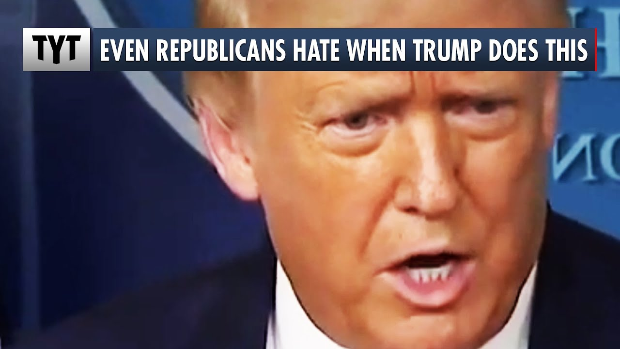 Republicans HATE When Trump Does THIS