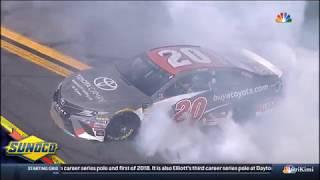 Monster Energy NASCAR Cup Series Daytona July 2018 Race Finish