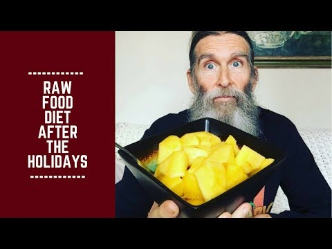 Raw Food Diet After the Holidays: Cleaning up and Getting Started