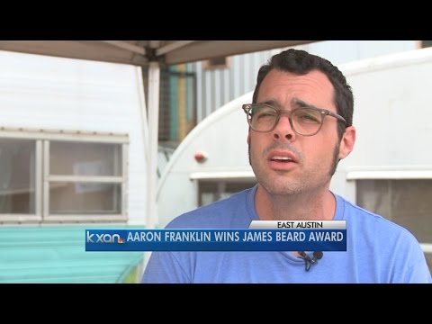 Aaron Franklin wins James Beard Award for best chef