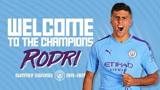 RODRI SIGNS FOR CITY! | TRANSFER NEWS | 2019/20
