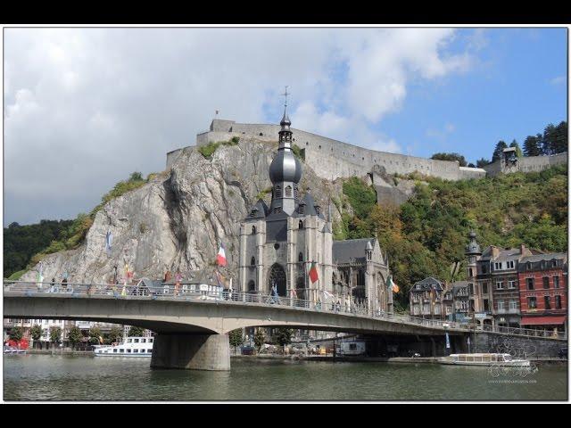 road trip por #Bélgica. que ver en Dinant a orillas del rio Mosa en Valonia. Sax y saxofones #Dinant