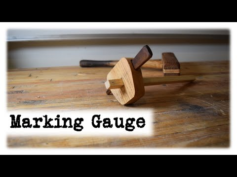 Marking Gauge || DIY || Workshop Essentials