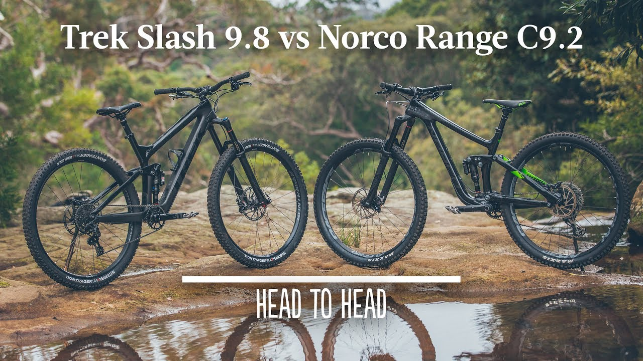 Trek Slash 9 8 Vs Norco Range C9 2 The Big Travel 29er Showdown