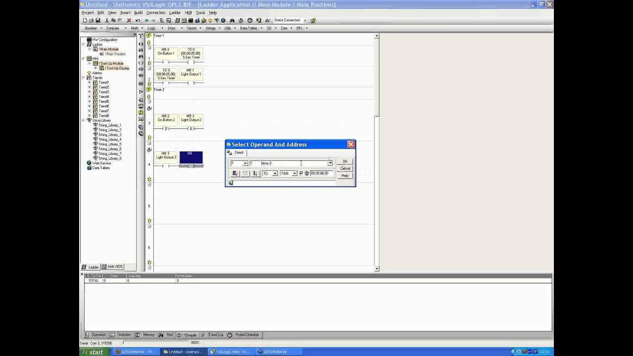 Unitronics Webinar | Timers, HMI Jumps and more basic