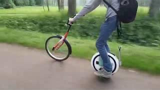 Велосипед + моноколесо Ninebot One E+