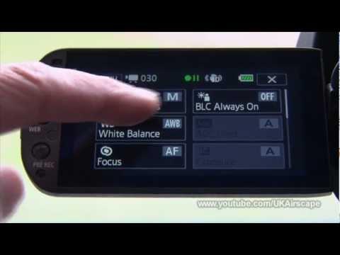 Recording menus: Canon Legria HF-G25 (Vixia HF-G20)