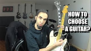 how to choose an electric guitar?