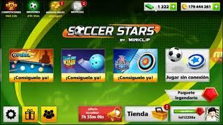 SOCCER STARS 2 liga legendariA