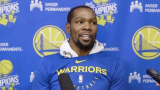 Kevin Durant talks Kevin Knox, and joining the New York Knicks?