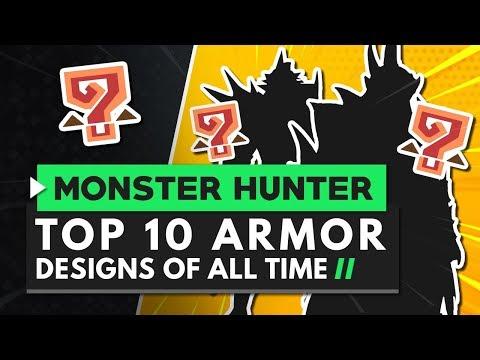 Monster Hunter   TOP 10 Armor Designs of All Time! thumbnail